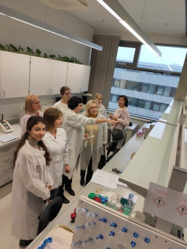 From November 10, 2019 to November 17, 2019 visited the Department of Technology of Medicines and Social Pharmacy Lithuanian University of Health sciences
